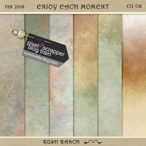 PSFeb2018_enjoy-each-moment_watercolor-papers